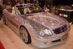 So if a cop wrote a ticket.....what color would this be, bling?? Lol.....Luxury car issues!