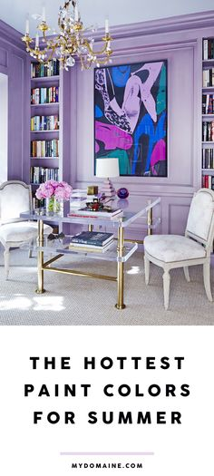 Must-try paint colors for the summer