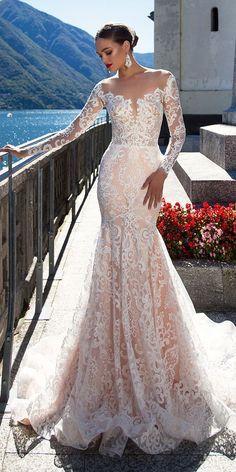 Milla Nova 2017 wedding gown made in mermaid silhouette