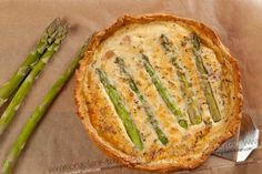 I love quiche and asparagus can be tasty, so this guy may need to be made for dinner someday soon