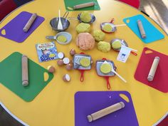 Playdough Activities, Activities For Kids, Role Play, Pretend Play, Play Stations, Mister Wolf, Pancake Party, Nursery Crafts, Tuff Tray