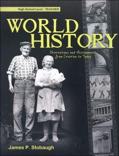 series of 3 high school history books.