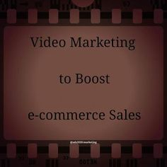 How to Use Video Marketing to Promote your #eCommerce Business Sales? #videomarketing #leads #tips B2b…: How to Use Video… from @vinaivil