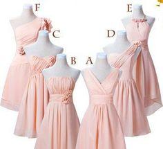 Brautjungfer Kleid Abendkleider Cocktailkleider von TheBridalGowns auf DaWanda.com