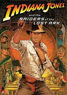 Indiana Jones and the Raiders of the Lost Ark - The 75 Most Iconic Movie Posters of All Time | Complex