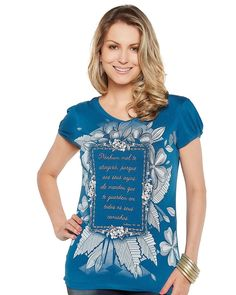 ·Picture of Blusa Salmos 91,1 MS1729