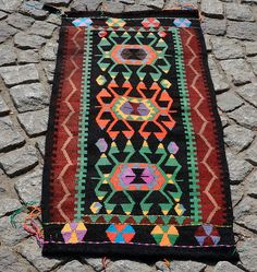 List for User Merrisondecember Turkish Kilim Rug 20 x 43 Hand Woven Wool Kelim | eBay