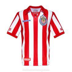 67e1354de maillot de foot Chivas Deportivo Guadalajara 07-08 Home Commemorative Shirt  Soccer Jersey maglietta da