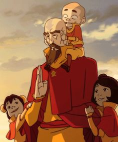 Tenzin must be one spiritual dude to deal with kids like Ikki and Meelo, and I have a feeling Jinora has a surprise or two for us.