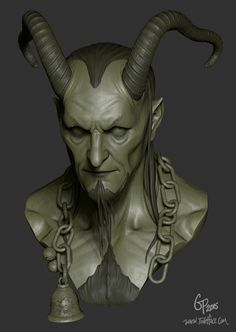 Sculpture - Toiletface - Gabe Perna Sculpture and Illustration Character Modeling, 3d Character, Character Design, 3d Sketch, Sketches, Zbrush, Creature Design, Fantasy Art, Sculpting