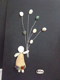 DIY Pebble Art / Baloon