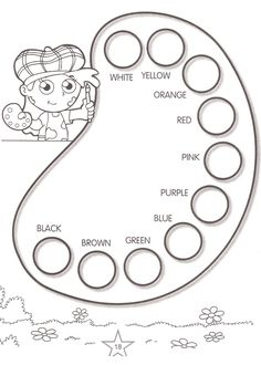 Printable Activities Learn colors 14