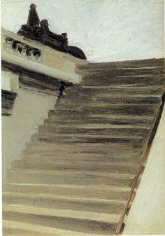 Edward Hopper, Steps in Paris, c.1902