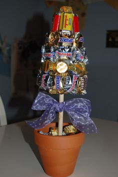 Love this idea for a candy tree.