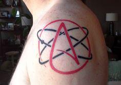Skeptic Atheist Symbol #scienceink