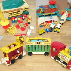 Blast From the Past: Vintage Fisher Price Toys Bring Back Memories
