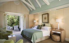 Alan Pye Cottage Bedroom - Huka Lodge | Taupo Luxury Retreat | New Zealand
