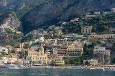 Positano, on the Amalfi Coast in Southern Italy