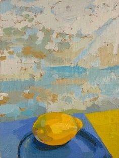 stilllifequickheart:  Celia Reisman, Lemon, 2009.