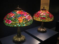 Tiffany Lamps    The Tiffany exhibit at the Nassau County Museum of Art.