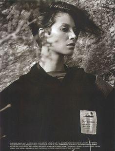 Vogue Paris Aug 2001 - Christy Turlington by Inez & Vinoodh