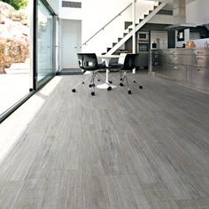 $8.95/sqft http://www.designtra.com/?s=orsa&post_type=product  A best seller @ Designtra.  These durable porcelain tiles simulate the warm aesthetics of a weathered wood floor. They have a near perfect wood appearance and soft toned neutral colors that transmit a sophisticated atmosphere. They are formatted in common wood plank dimensions to complete the look, and each tile is rectified, for a nearly seamless micro-grout installation. Available in Anti-Slip for commercial applications…