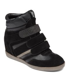 Take a look at this Black Anthony Hi-Top Sneaker by BCBGeneration on #zulily today!