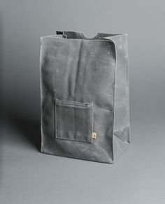 Waxed Canvas Marlowe Lunch Bag