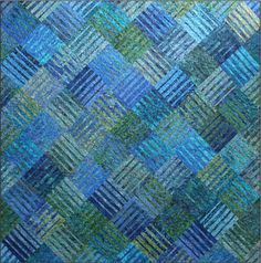 Underground Blues Quilt Pattern Blue Underground Studios DIY Quilting Sewing