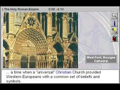 The Holy Roman Empire (The Medieval Era Part 1) - http://www.zaneeducation.com - The Holy Roman Empire is Part 1 of The Medieval Era - Explore the cultural influence of the Church and the artistic impact of the Gothic style. Gain insight to the effects of feudalism, secular monarchies, and the classical ideal on the Age of Faith. Survey the development of plainchant, harmony, and counterpoint, and discover how the formal qualities of ...