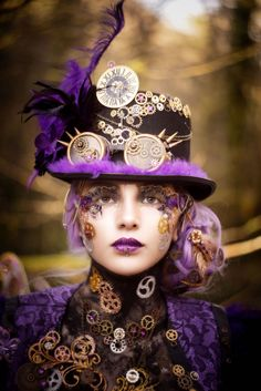 Steampunk Fantasy Lash competition 1st Place Fantasy lash art, fantasy lashes, lash artist Cindy Nicholls iLashtique