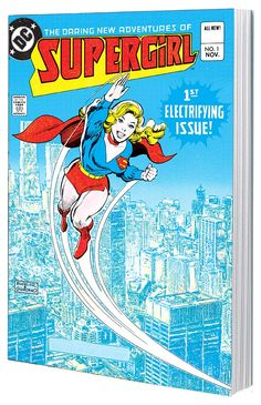 LA AUDACIA nuevas aventuras de SUPERGIRL VOL.  1 TP  En estos cuentos desde 1980 el arrojo nuevas aventuras de SUPERGIRL # 1-12, Supergirl se traslada a Chicago a partir de Metropolis-y cumple con el mal en nuevas formas, incluyendo el Psi malvado!  Además, mientras luchan contra el cuarteto del mal conocido como la Banda, Kara se topa con una conspiración que amenaza a toda su nuevo hogar!  Como estrella invitada a la Patrulla del Destino!