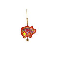 """Spread the air of festivity with small ornate decorations you can bring on the go. Our range of small hanging decorations took the inspiration from the Chinese animal zodiacs.   In the Chinese culture, an animal and its reputed attribute represent each lunar year in a repeating 12-year cycle. Pig, the last animal of the twelve zodiac.  Compassion and generosity are traits linked to those born in this zodiac sign (""""猪"""" zhu). Let a generous flow of colours add meaning to the coming new ye..."""