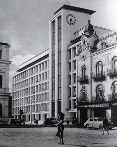 The Palace of State Monopolies, Calea Victoriei 152 Duiliu Marcu , in Little Paris, Bucharest Romania, Eastern Europe, Wonderful Places, Time Travel, Big Ben, Retro, Modernism, Tourism