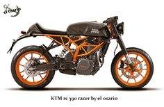 KTM rc 390 racer