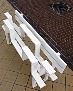 Social Benches by Jeppe Hein