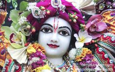 To view Gaurachandra Close Up Wallpaper of ISKCON Chicago in difference sizes visit - http://harekrishnawallpapers.com/sri-gaurachandra-close-up-wallpaper-008/