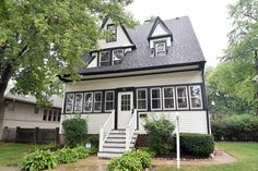 Motivated Seller! UPDATED 3RD floor living space can be used as a recreation room or bedroom.  Welcome home to this 19th Century beauty located in Berwyn's Hot Depot District!!  Step into 1894 with charming delicate details throughout. 3 second floor bedrooms.  Original built-ins and imported corner-cut oak staircase! Ornate and detailed fireplace in sitting room located off of foyer. Updated kitchen and updated bath (with whirlpool tub). New ductless heaters/AC for third floor living area…