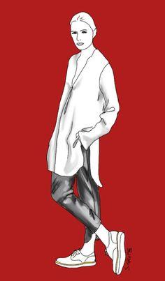 Dieses #Outfit aus #Longbluse und 7/8-Hose ist äußerst beliebt. Warum wohl? #Modeflüsterin