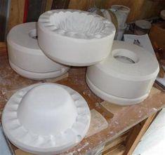 plaster molds for slip casting