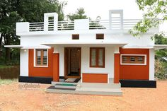 2 Bedroom contemporary Kerala house plan in 750 sqft for 12 lakhs Below 15 Lakhs Kerala Home Plans, house below 15 lakhs, 2 bedroom house estimate cost under 15 lakhs , home plans kerala for 12 lakhs House Balcony Design, Single Floor House Design, Modern Small House Design, Village House Design, Kerala House Design, Simple House Design, House Design Photos, Bungalow House Design, 2bhk House Plan