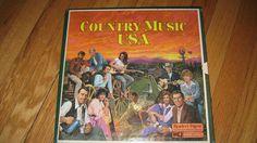 Reader's Digest Country Music USA 8 LP Record Album Set- Vintage!!!  Rare!!!