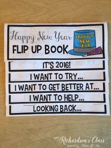 Use this New Year Flip Up Book to have them writing about how they want to be grow during They can then share them with friends in their classroom and encourage and celebrate meeting their goals all together! New Years Activities, Holiday Activities, Writing Activities, Classroom Activities, Activities For Kids, Classroom Ideas, Counseling Activities, Spanish Activities, Classroom Organization