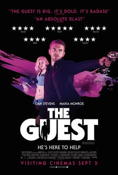 New Poster for The Guest Starring Dan Stevens - Pissed Off Geek