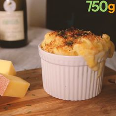 Gratin de macaroni aux 3 fromages - The Best Baby Recipes Baby Food Recipes, Sweet Recipes, Food Porn, Tasty, Yummy Food, Food Is Fuel, Easy Cooking, Diy Food, Queso