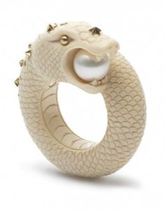 Sea Snake Mammoth ring  bibivandervelden