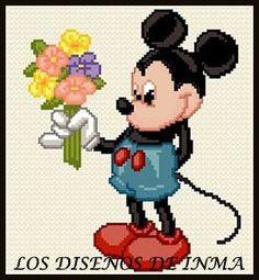 PDF Gráfico Punto de Cruz, Disney 11, Disney Punto de Cruz, Disney