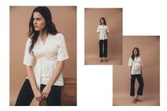"Stylist and co-founder of the site Make It Last - Emma Elwin releases exclusive design collaboration with The Swedish ""mother brand"" Boob March 1th. The collaboration has resulted in a complete mini wardrobe for the modern mother. #emmaelwinxboob #boobdesign #sustainablefashion #styleby #maternityfashion #maternitystyle #nursingwear"