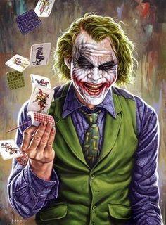 Collection of Batman Art for Mondos 75 Years of Batman Art Show GeekTyrant - Batman Poster - Trending Batman Poster. - Collection of Batman Art for Mondos 75 Years of Batman Art Show by JASON EDMISTON Le Joker Batman, Harley Quinn Et Le Joker, Batman Joker Wallpaper, Joker Iphone Wallpaper, Joker Wallpapers, Batman Art, Gotham Batman, Batman Robin, Joker Comic
