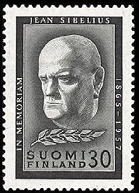 Jean Sibelius - surumerkki - Sulje napsauttamalla kuvaa Classical Music, Postage Stamps, Nostalgia, Composers, Vintage, Postcards, Musicians, Portraits, Paper